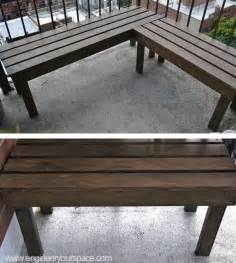 patio corner bench corner bench instructions woodworking projects plans