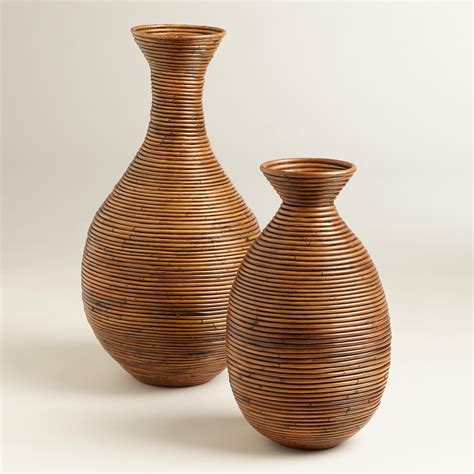Wicker Vases by 301 Moved Permanently
