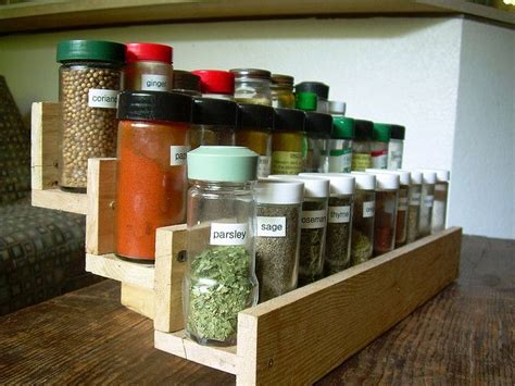 diy tiered spice rack wooden spice rack ideas for the home