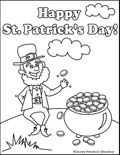 elvenpath coloring pages st patrick day