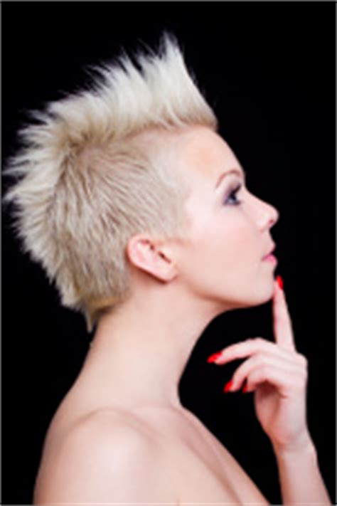 mohawk hair long in the front snappy and wacky emo haircuts for girls