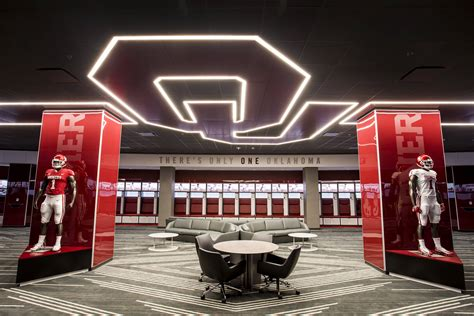 normans locker room this is home oklahoma sooners