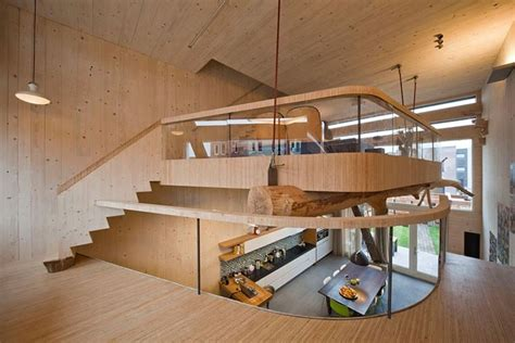 unique house architecture design with wooden material in soppalco in legno controsoffittature come realizzare