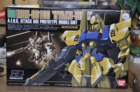 Hg 1 144 Delta Gundam Gold Coating it s an endless waltz gundam review hg 1 144 hyaku shiki