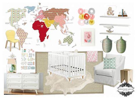 Cowhide Rug Nursery - emerson grey designs nursery interior designer aloha