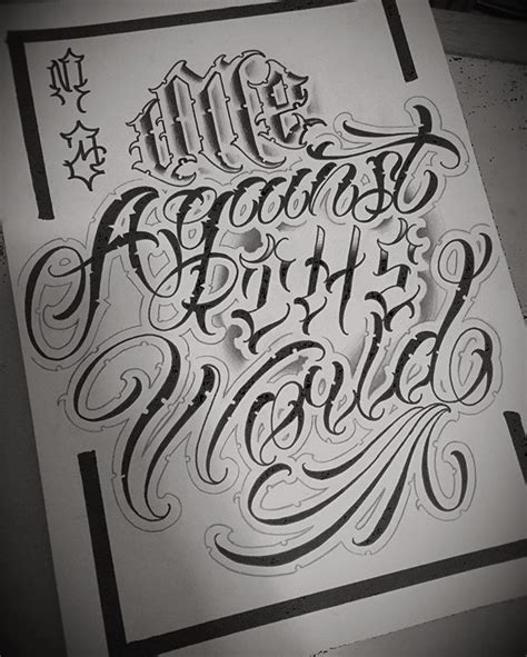 mexican tattoo lettering font 25 best ideas about chicano lettering on pinterest