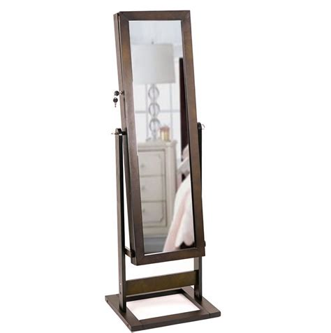 mirrotek jewelry armoire amazoncom mirrotek jewelry armoire over the door mirror