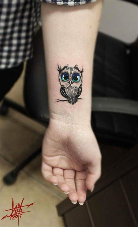 tattoo owl wrist 40 edgy owl tattoo design ideas for an enigmatic style