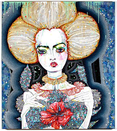 Del Kathryn Barton Artwork by Del Kathryn Barton Satellite Fade Out 7 Roslyn Oxley9