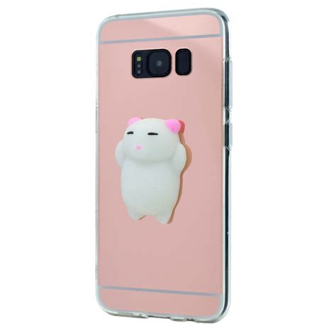 Squishy 3d 1 Silicon Tpu Soft Cover Samsung Berkualitas 1 for samsung galaxy phone 3d slim cat mirror soft tpu rubber cover skin ebay