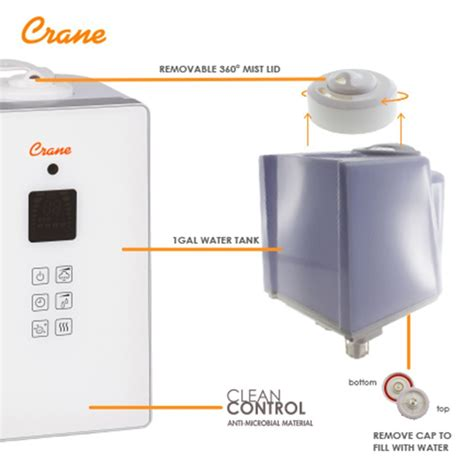 Humidifier Crane Tipe a must cool mist humidifier on the review