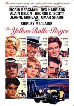 the yellow rolls royce 1964 the yellow rolls royce 1964