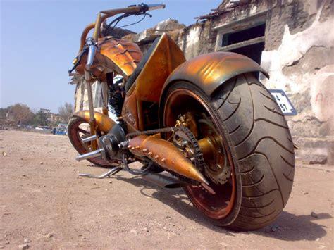 Modification Of Bike In Mumbai by Khalidaro Design Mumbai Based Bike Customizers 350cc