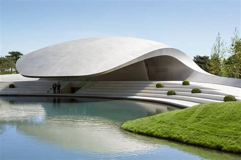 pavillon pavillion new porsche pavilion designapplause