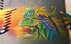 colors of dragons prismatic by alviaalcedo on deviantart