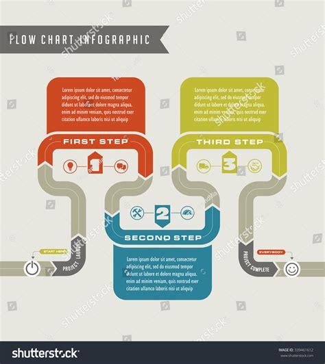 infographic flowchart template vector flow chart template infographic 339461612