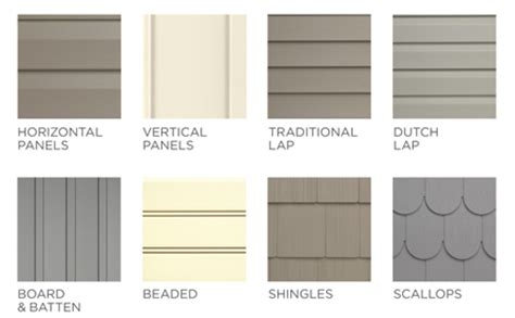 types of house siding materials benson s building supply lp smart side