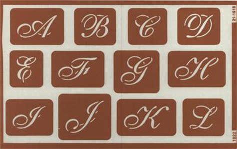 engraving letter templates n script alphabet stencil etching engraving delphi