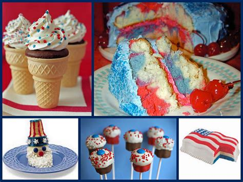 red white and blue desserts patriotic pinterest