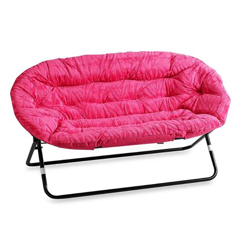 pink butterfly chair bed bath and beyond idea saucer chair in pink from bed bath beyond