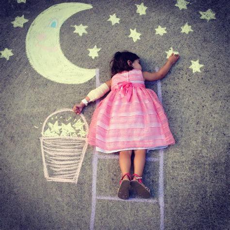 photography kids craft fun photo ideas chalk drawings