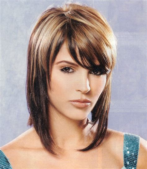 pics of cuts to make the hair look fuller beautiful shoulder length stacked bob haircut looks cool