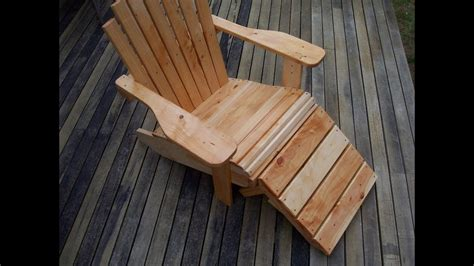 build  cape  adirondack chair youtube