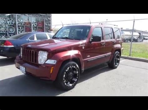 black jeep liberty with black rims 2008 jeep liberty on custom 18 inch black offroad rims