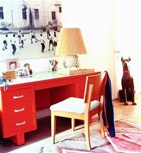 Bright Desk L by Rosa Beltran Design Punchy Bright Colorful Desks
