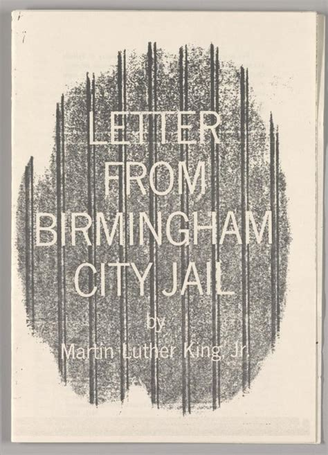 Response Letter From Birmingham Letter From Birmingham City The Martin Luther King Jr Center For Nonviolent Social Change