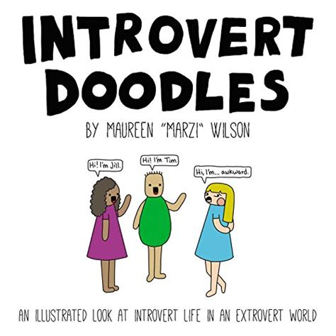 introvert doodles an illustrated look at introvert life