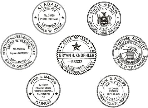 company seal st template notary traditional st style no 3 china
