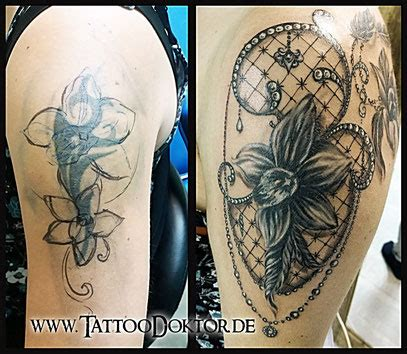 tattoo cover app tattoodoktor l 252 beck rostock galerie reparatur cover