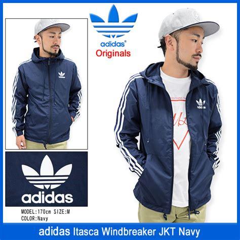 field rakuten global market adidas adidas jacket s itasca windbreaker navy originals