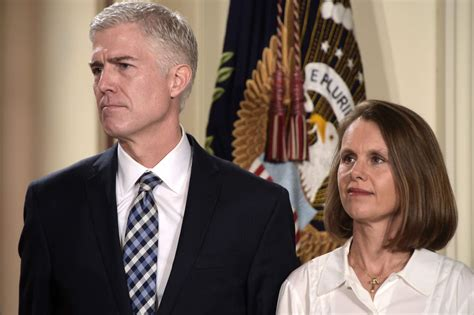 neil gorsuch mother and father neil gorsuch and his wife marie louise gorsuch the bull