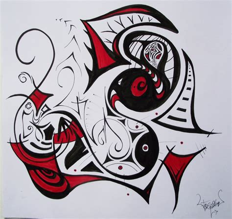 aboriginal style graffiti by voodoochild24 on deviantart