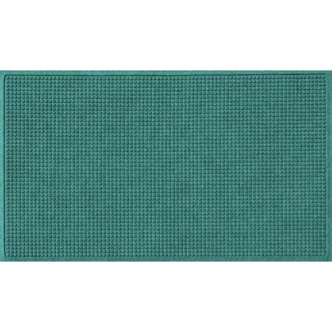 Brown Rubber Door Mat Trafficmaster Brown 36 In X 60 In Synthetic Fiber And