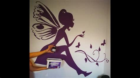 diy como hacer  dibujo perfecto  grande en tu pared