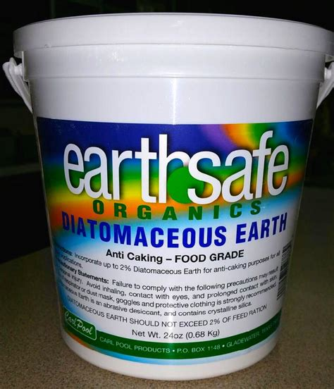 diatomaceous earth for garden pest pest