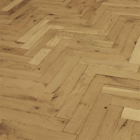 Unfinished Parquet Oak Solid Wood Flooring   Direct Wood