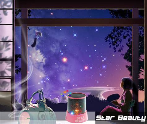starry night bedroom starry night sky projector with rgb color changing led s