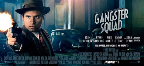 film gangster squad wikipedia new gangster squad character banners the movie blog