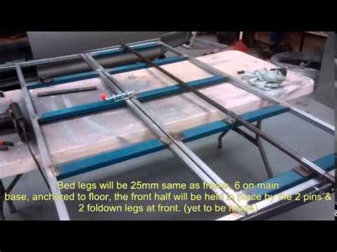 How To Up A Sleeper by 1999 Delica Cer Electric Sofa Bed Build Part 1