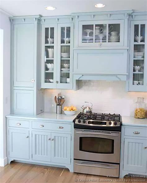 Of kitchens traditional blue kitchen cabinets kitchen 3