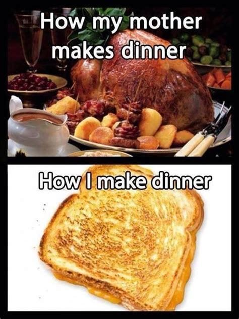 hilarious dinner how my makes dinner how i make dinner picture quotes