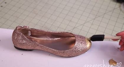 Flatshoes Hitam Gold by Ide Mendekorasi Flatshoes Polos Menjadi Design Mouse