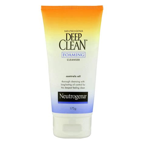 deep clean buy deep clean foaming cleanser 175 g by neutrogena online