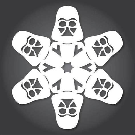 printable star wars snowflake patterns 51 free paper snowflake templates star wars style