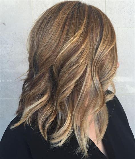 hairstyles medium length highlights 40 of the best bronde hair options shoulder length hair