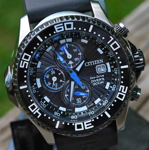 citizen dive citizen bj2115 07e eco drive dive review